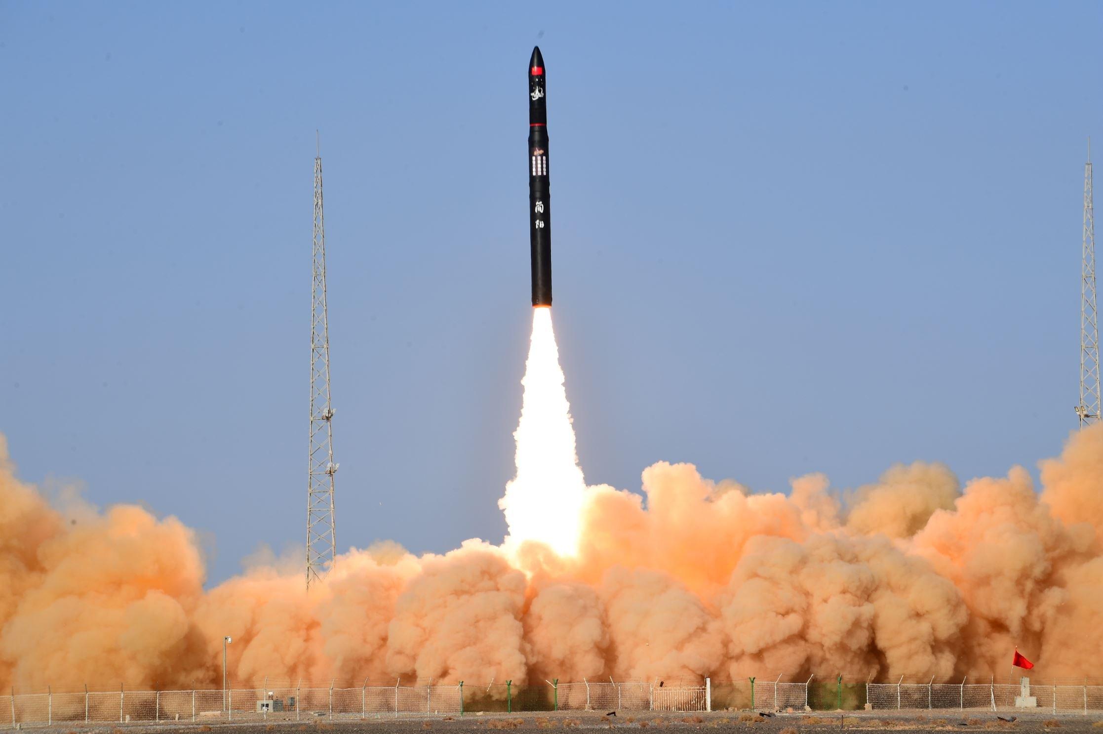 Запуск ракеты-носителя Ceres-1