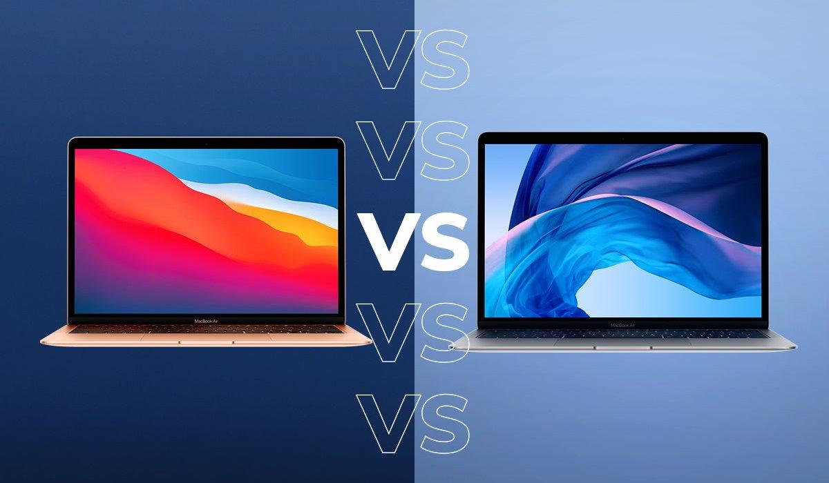 MacBook Air M1 vs MacBook Air Intel 2020