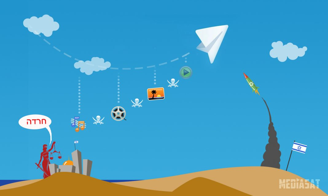 Борьба с пиратством в Telegram в Израиле
