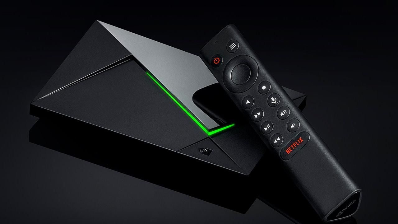 ТВ-приставка Nvidia Shield TV Pro