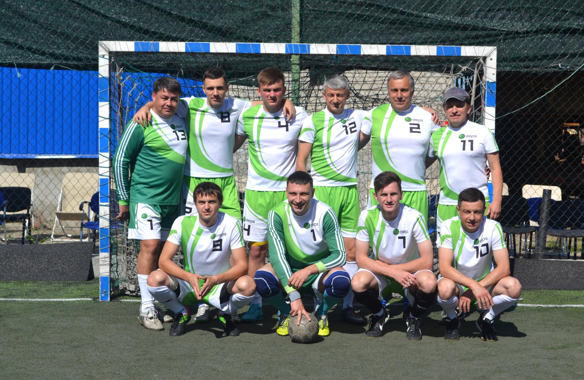 Футбольная команда DEPS