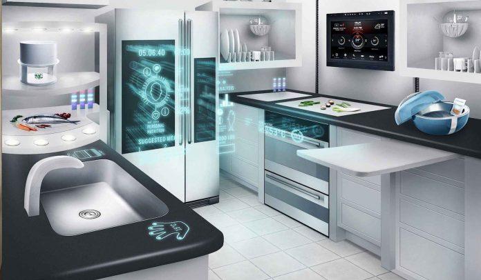 Высокотехнологичная кухня / Hi-Tech Kitchen