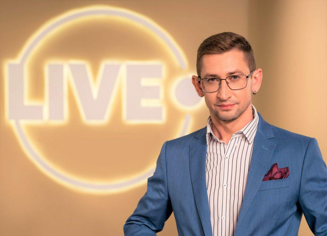 Максим Зборовский, бренд-войс телеканала LIVE