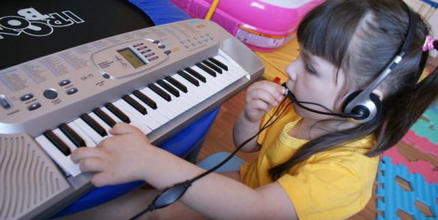 Обучающий синтезатор для детей