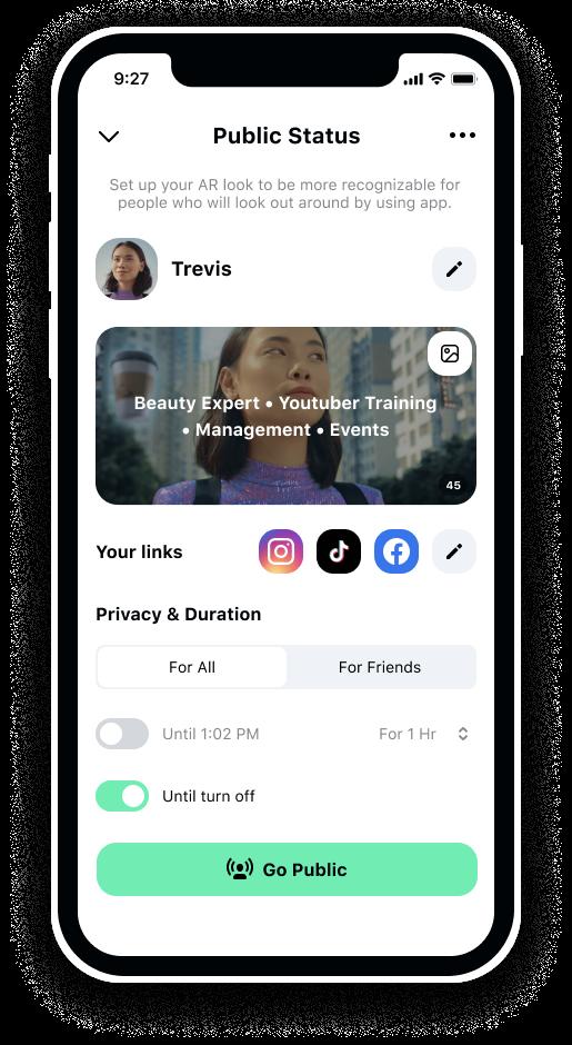 XSight - первое приложение дополненной реальности с функционалом соцсети