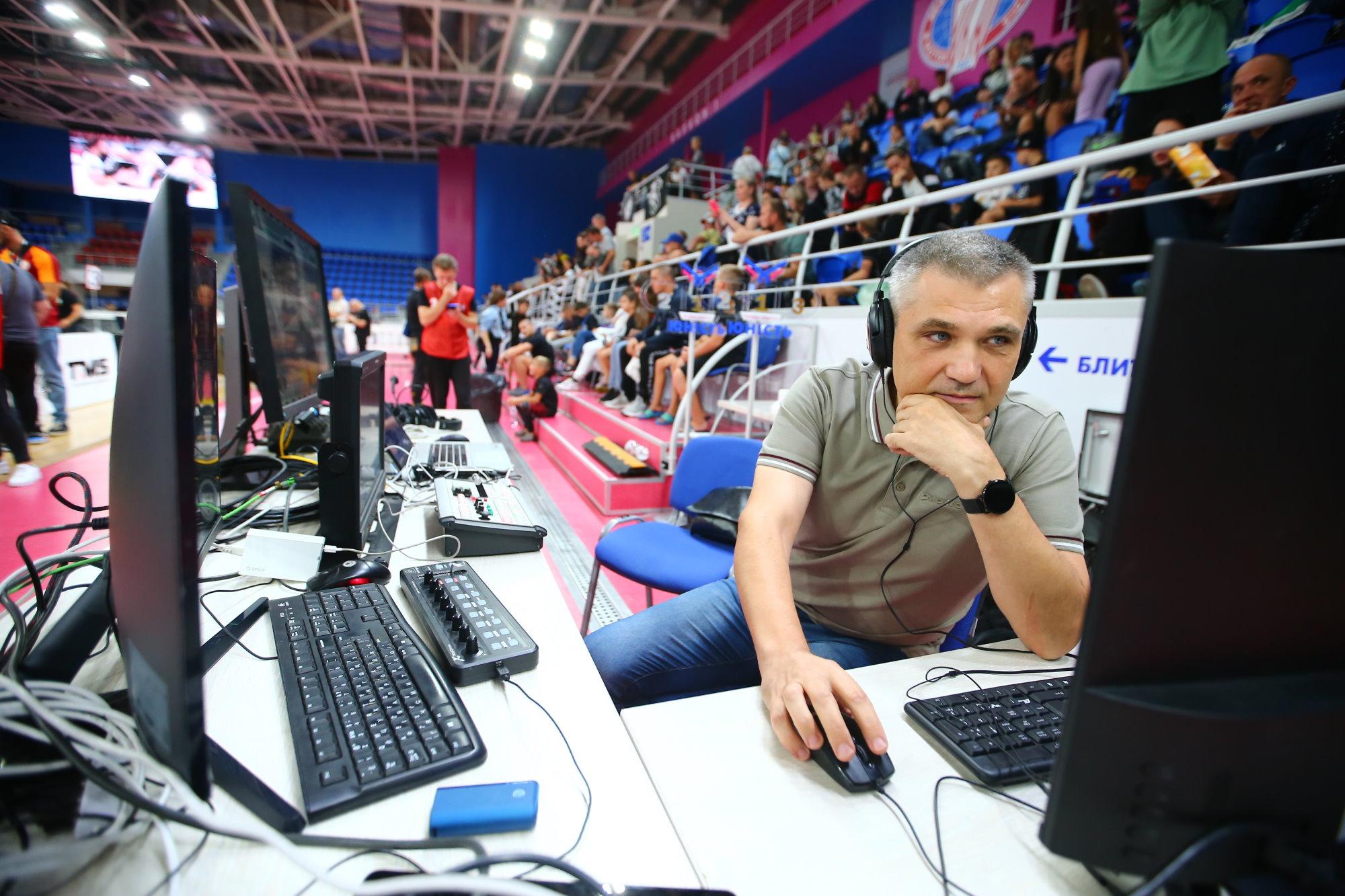 Роман Поляченко – медиадиректор украинского баскетбольного клуба Запорожье